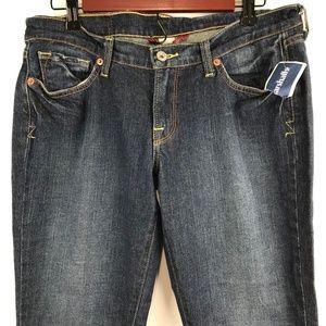 Lucky Brand Zoe Boot Jeans 10 30 Blue Denim New